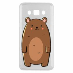 Чехол для Samsung J5 2016 Bear with a smile