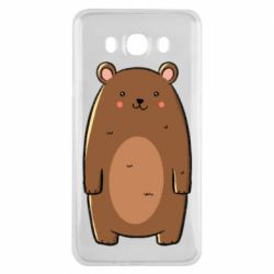 Чехол для Samsung J7 2016 Bear with a smile