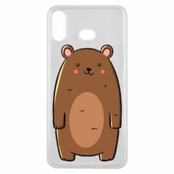 Чехол для Samsung A6s Bear with a smile