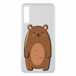 Чехол для Samsung A7 2018 Bear with a smile