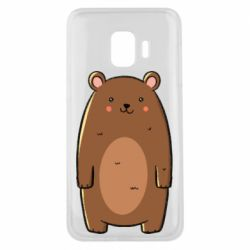 Чехол для Samsung J2 Core Bear with a smile