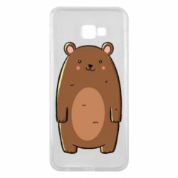 Чехол для Samsung J4 Plus 2018 Bear with a smile