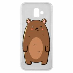 Чехол для Samsung J6 Plus 2018 Bear with a smile