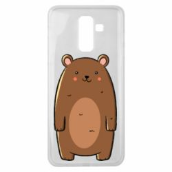 Чехол для Samsung J8 2018 Bear with a smile