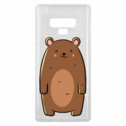 Чехол для Samsung Note 9 Bear with a smile