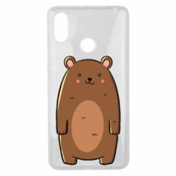 Чехол для Xiaomi Mi Max 3 Bear with a smile