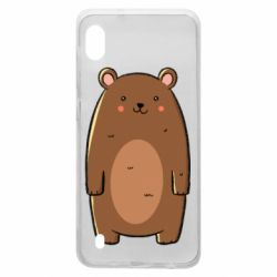 Чехол для Samsung A10 Bear with a smile