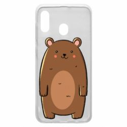 Чехол для Samsung A30 Bear with a smile
