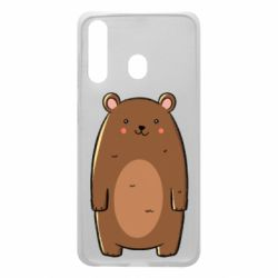Чехол для Samsung A60 Bear with a smile