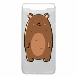 Чехол для Samsung A80 Bear with a smile