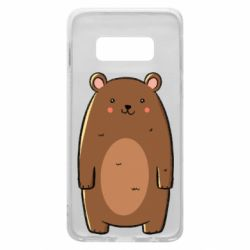 Чехол для Samsung S10e Bear with a smile