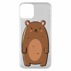 Чехол для iPhone 11 Bear with a smile