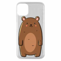 Чехол для iPhone 11 Pro Bear with a smile