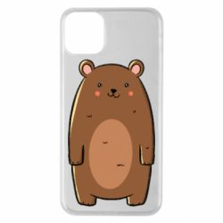 Чехол для iPhone 11 Pro Max Bear with a smile