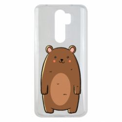 Чехол для Xiaomi Redmi Note 8 Pro Bear with a smile