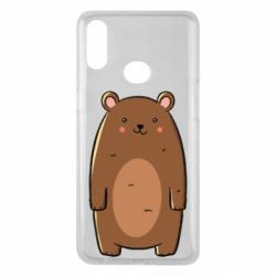 Чехол для Samsung A10s Bear with a smile