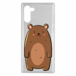 Чехол для Samsung Note 10 Bear with a smile