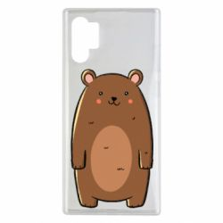 Чехол для Samsung Note 10 Plus Bear with a smile