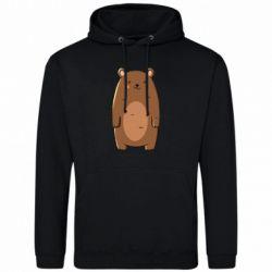Мужская толстовка Bear with a smile