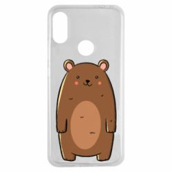 Чехол для Xiaomi Redmi Note 7 Bear with a smile