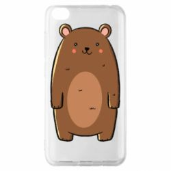 Чехол для Xiaomi Redmi Go Bear with a smile