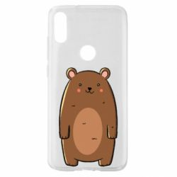 Чехол для Xiaomi Mi Play Bear with a smile