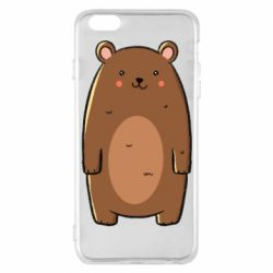 Чехол для iPhone 6 Plus/6S Plus Bear with a smile