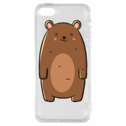 Чехол для iPhone5/5S/SE Bear with a smile