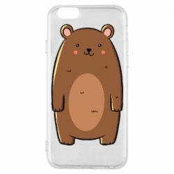 Чехол для iPhone 6/6S Bear with a smile