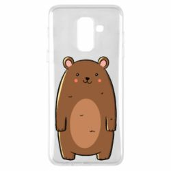 Чехол для Samsung A6+ 2018 Bear with a smile