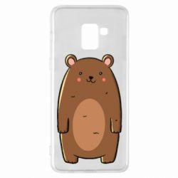 Чехол для Samsung A8+ 2018 Bear with a smile