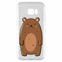 Чехол для Samsung S7 EDGE Bear with a smile