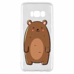 Чехол для Samsung S8 Bear with a smile