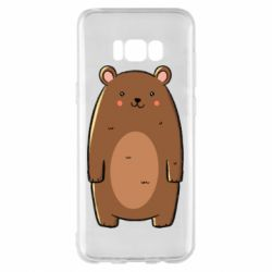 Чехол для Samsung S8+ Bear with a smile
