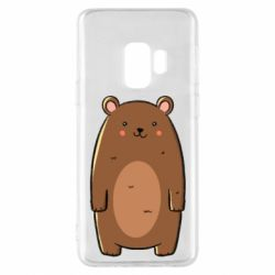 Чехол для Samsung S9 Bear with a smile