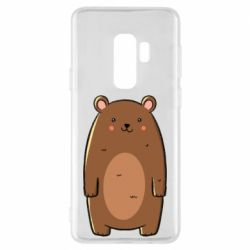Чехол для Samsung S9+ Bear with a smile