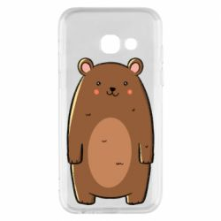 Чехол для Samsung A3 2017 Bear with a smile