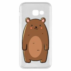 Чехол для Samsung A5 2017 Bear with a smile