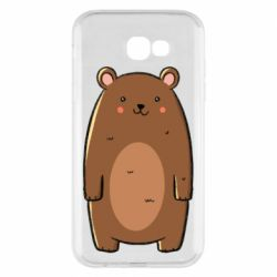 Чехол для Samsung A7 2017 Bear with a smile
