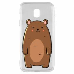 Чехол для Samsung J3 2017 Bear with a smile