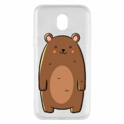 Чехол для Samsung J5 2017 Bear with a smile