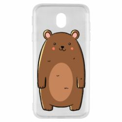 Чехол для Samsung J7 2017 Bear with a smile