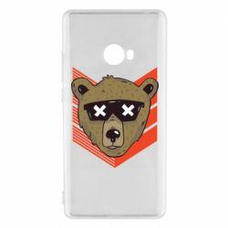 Чехол для Xiaomi Mi Note 2 Bear with glasses