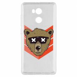 Чехол для Xiaomi Redmi 4 Pro/Prime Bear with glasses