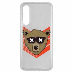 Чехол для Xiaomi Mi9 SE Bear with glasses