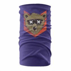 Бандана-труба Bear with glasses