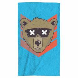 Полотенце Bear with glasses