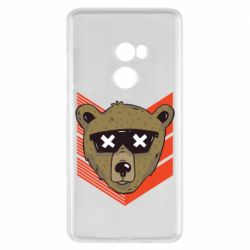 Чехол для Xiaomi Mi Mix 2 Bear with glasses