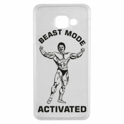 Чехол для Samsung A3 2016 Beast mode activated