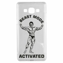 Чехол для Samsung A5 2015 Beast mode activated